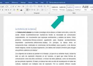 ¿Cómo hacer un índice automático en word? 1